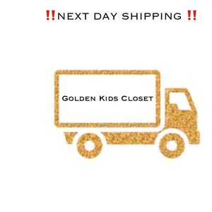 NEXT DAY SHIPPING ON ALL ORDERS‼️